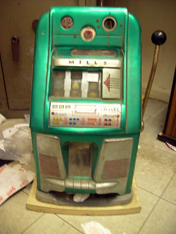 allwin deluxe slot machine